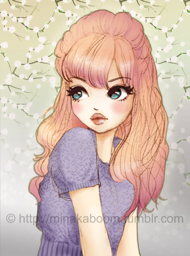 Dessin page 2 manga latte - Dessin de jeune fille ...